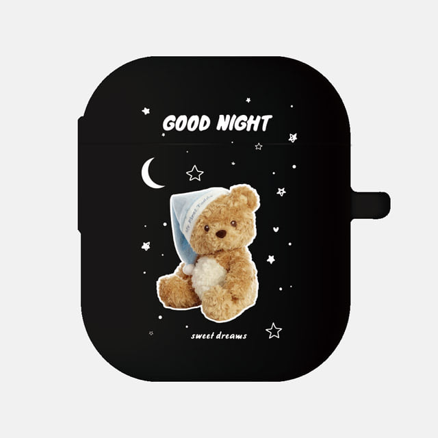 GOOD NIGHT BLUE 에어팟케이스, little mouse