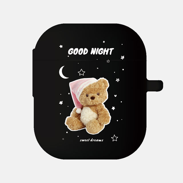 GOOD NIGHT PINK 에어팟케이스, little mouse